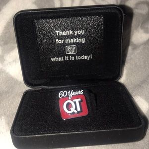 Quick trip 60 year pin (NWOT)